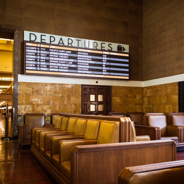 A Look Inside The History and Beauty of Downtown Los Angeles' Union Station