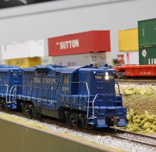 I enjoy going to model train shows to get pieces to add to my collection.