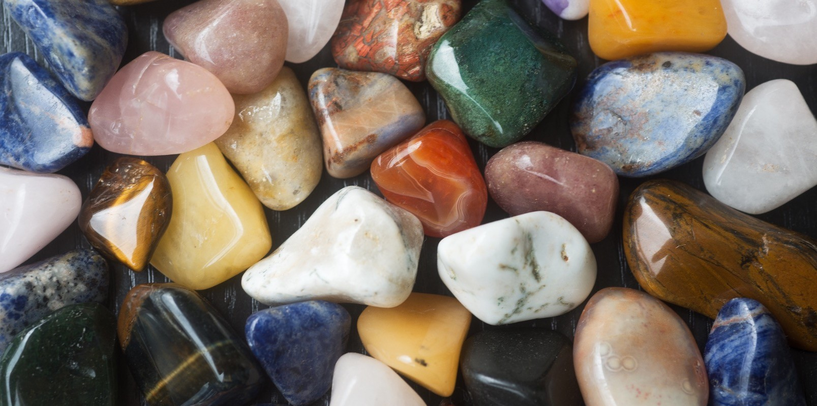 Growing my collection of healing stones.