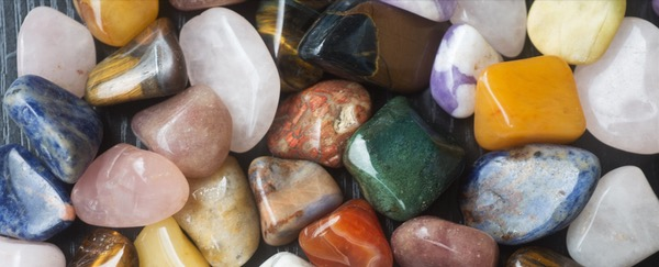 My collection of healing stones.