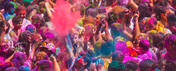 Holi Festival: The Festival of Color Was The Most Beautiful Sight I've Seen