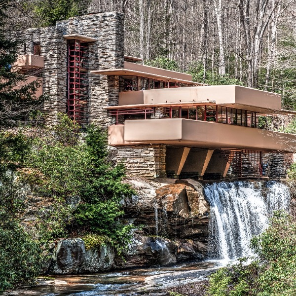 Frank Lloyd Wright's Fallingwater is The Most Astounding House I've Seen