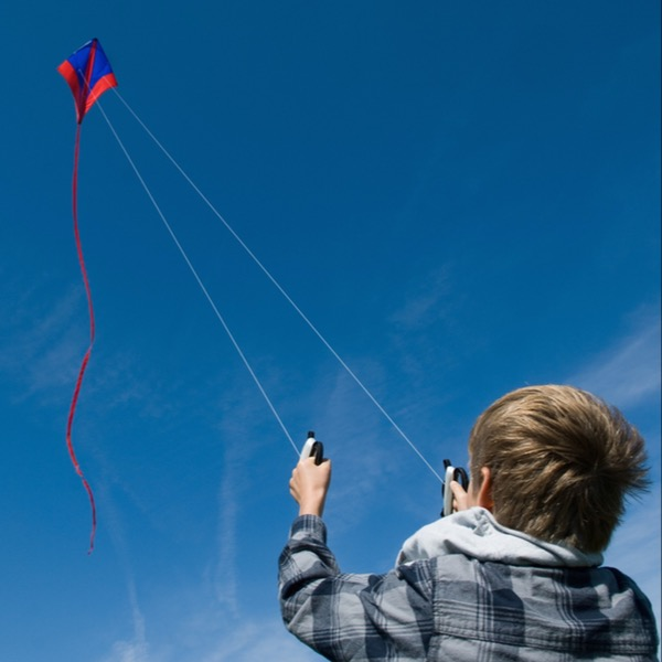 Whenever I See a Kite Flying in The Sky, I Think of My Younger Brother