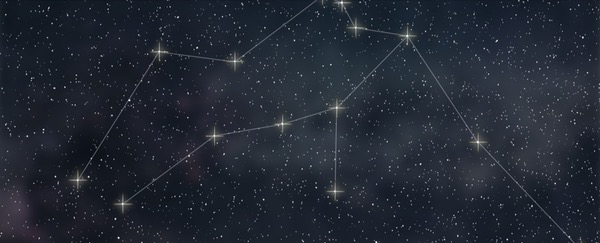 I love to search for new constellations.