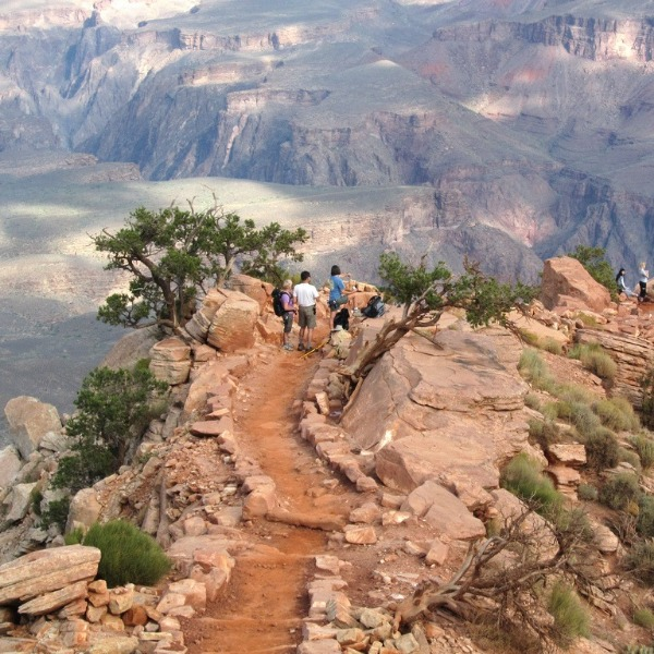 Try Trail-Running In The Grand Canyon