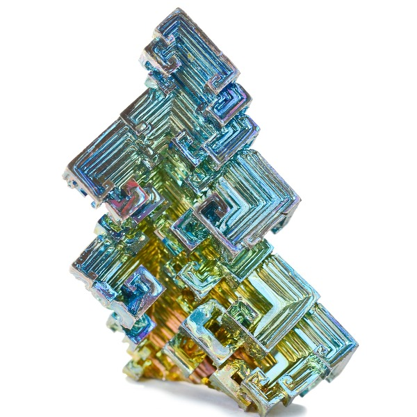 Bismuth Crystals And Why They're Colored The Way They Are