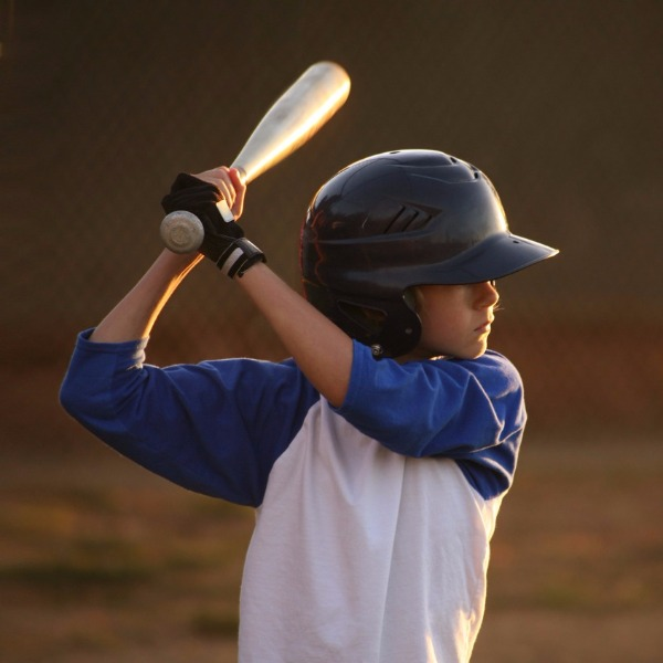 My kiddo started to come out of his shell with Little League baseball.