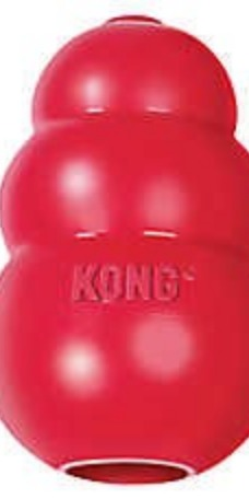 Kong: Good for peanut butter tricks