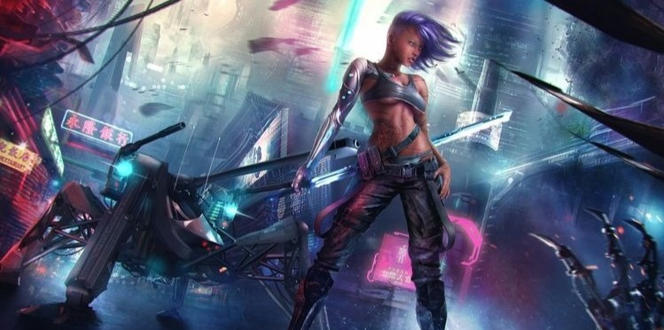 All the ladies of cyberpunk are sexy ladies. Those are the rules.