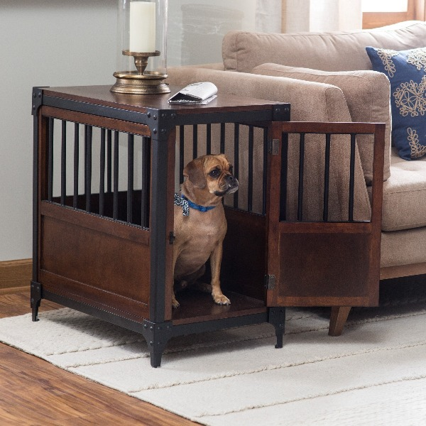 I Just Adore These Fancy-Schmancy Dog Crates