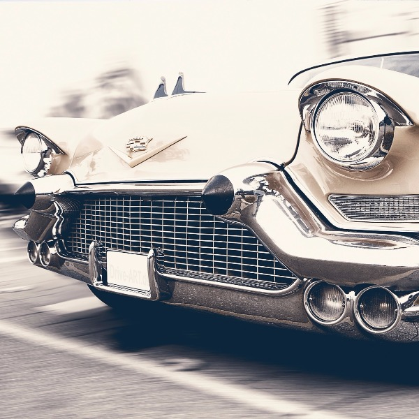 Most recently I started pinup modeling with old classic cars