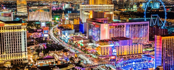 Vegas is easiest for quick and inexpensive trips