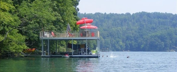 My Morty bought me a little catamaran to enjoy on the lake.