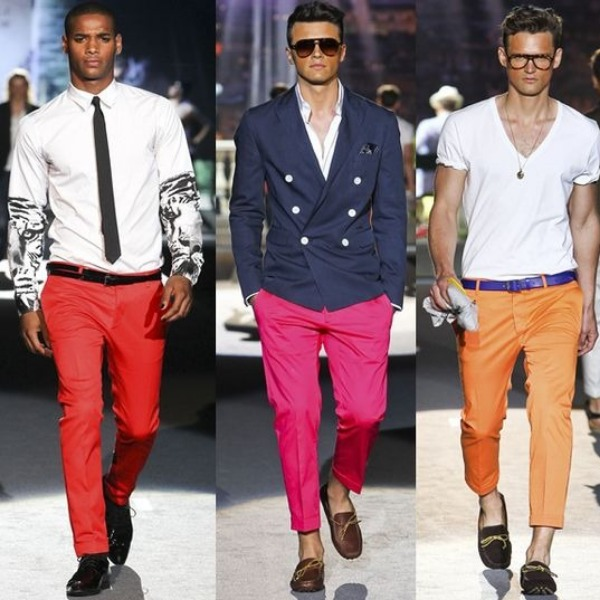 Men's fashion is so much better nowadays!