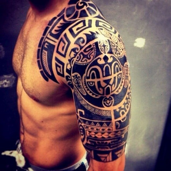 When I was young, I got a Polynesian tattoo and now I regret it.