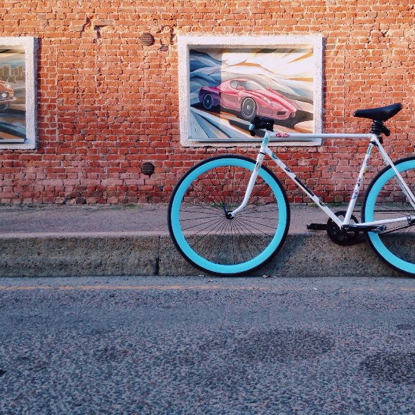 My favorite Fixie in the world was taken from me with the quickness