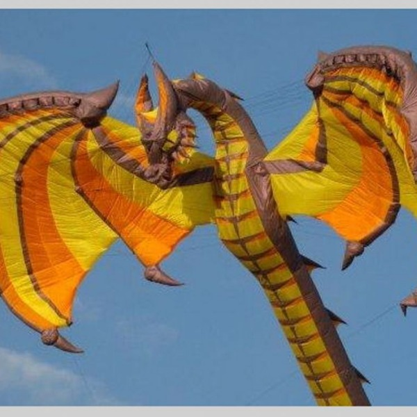 Dragon Kites Are The Coolest Type Of Kite You Can Fly And Here's Why