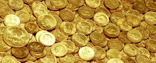 My father left me a small fortune in gold coins when he passed away.