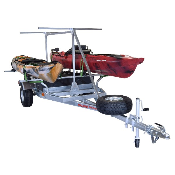 If you're a true kayaker like me, you're going to need a kayak trailer.