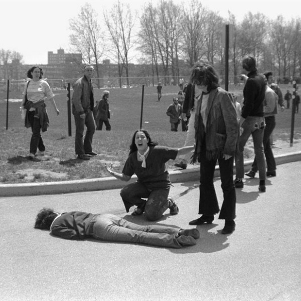 We Don't Go To Protests Because My Aunt Was At The Kent State Shootings