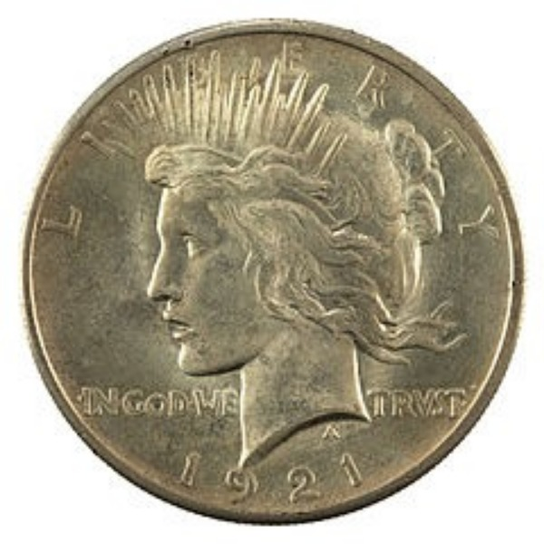The Peace dollar was the start of my coin collection.