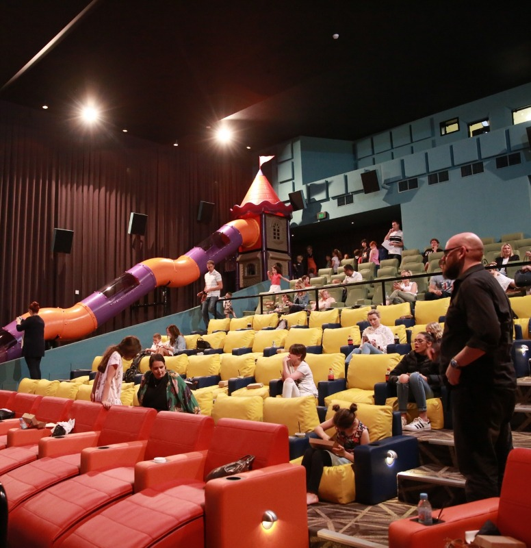 Australia's kids only movie theater