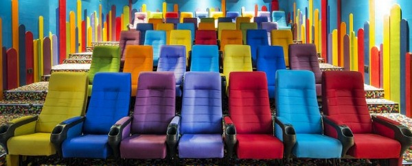 We need kids-only theaters in America!