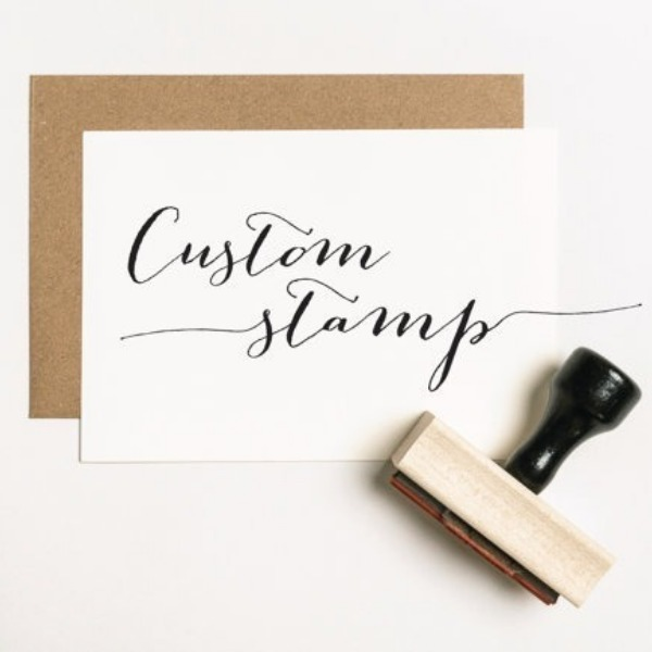 I want a custom rubber stamp for every occasion