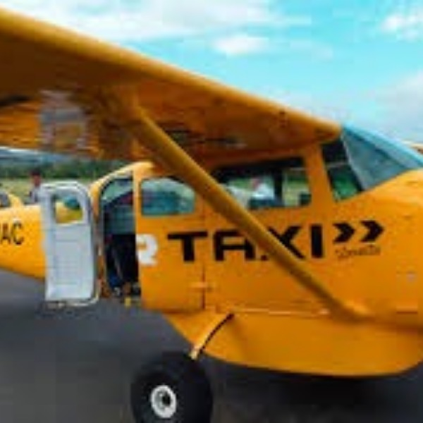 I never knew what an air taxi was until I took my friend to Van Nuys.