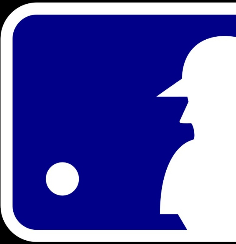 Part one of the MLB logo.