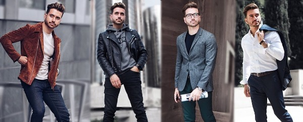 Men's fall fashion is what I live for (or at least, I like it a lot).