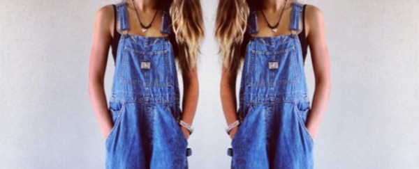 I'm enjoying jean overalls now that they've come back in to fashion.
