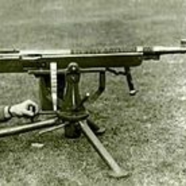 A Colt-Browning machine gun has been passed down in my family forever.