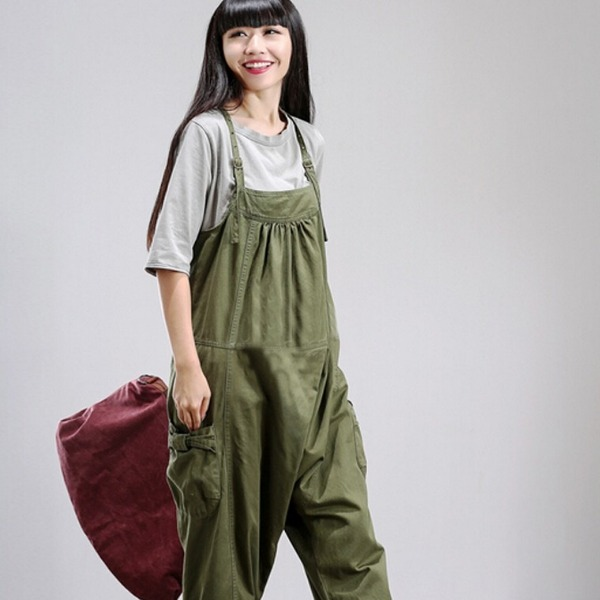 I bought my wife new overalls since she stopped wearing them because of me.
