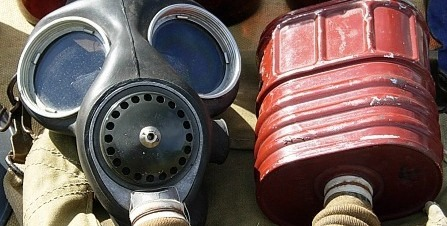 Standard issue gas mask