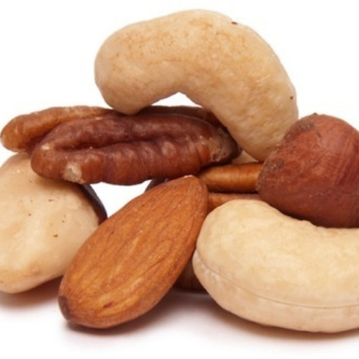 Make sure you get unsalted nuts.