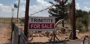 Trinitite can be found sold at roadside stops around the original site.