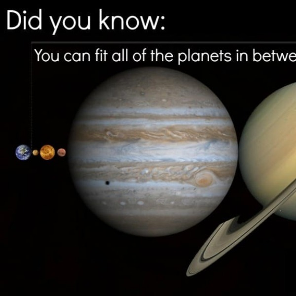 Can You Fit Every Planet In Our Solar System Between The Earth And Moon?