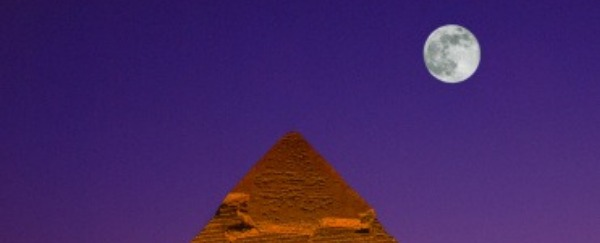 See The Great Sphinx Of Giza At Night In The Place That Never Sleeps