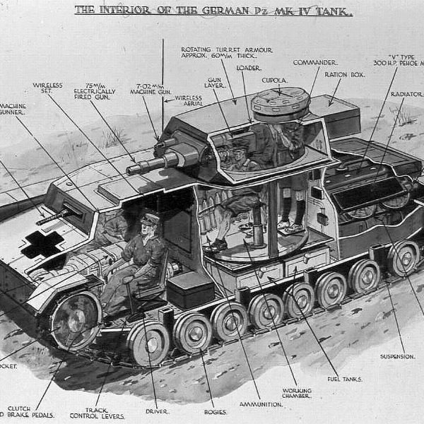 My Grandfather Fought Against The German's Panzer Tanks In WWII