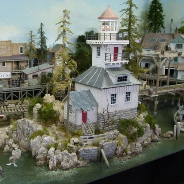 The Plastic Model Cars And Buildings At Scale Model Conventions Are Sweet