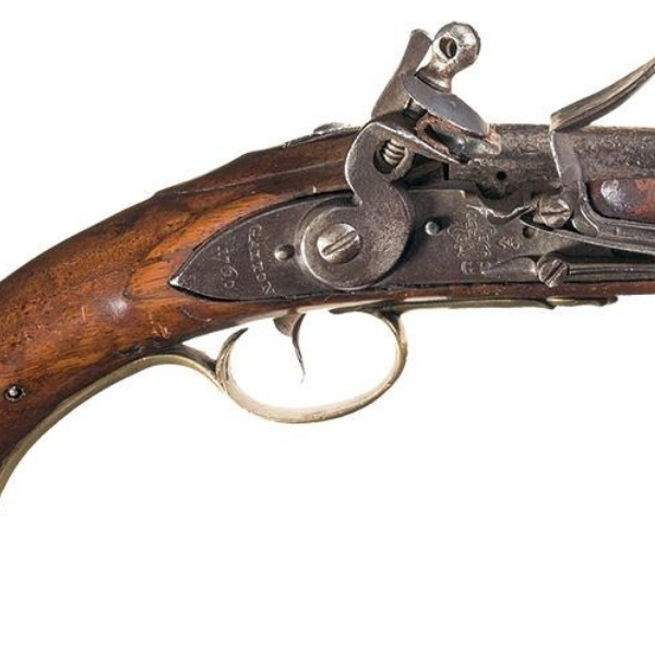 A flintlock pistol has been passed down in my family for generations.
