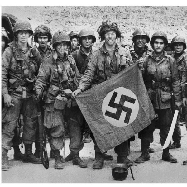 The Only Way To Display a German WWII Flag Is If It Were Captured In Battle