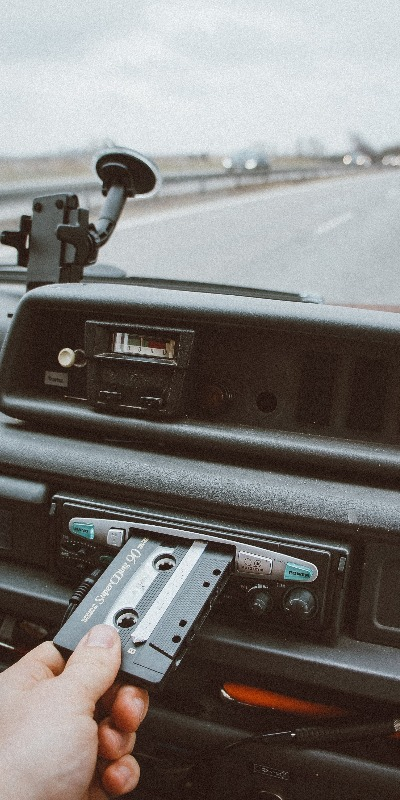 Chevy Camaros had cassette players from back in the day