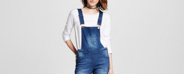 Skinny jean overalls are in style? Sign. Me. Up.