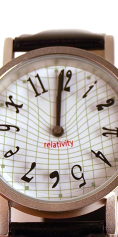 The Theory of Relativity on a watch