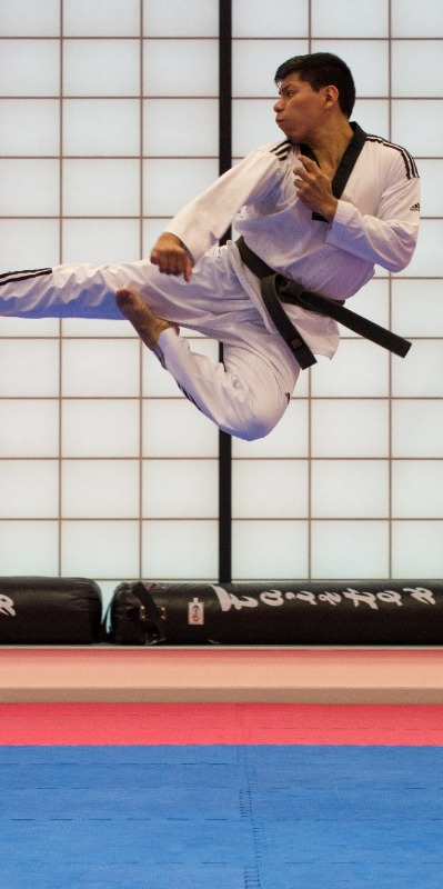 Mixed martial arts can make you fly!