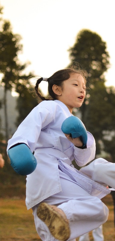 Kids at young ages can begin to train in mixed martial arts for fun