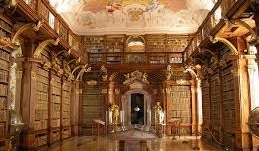 A great hall of books
