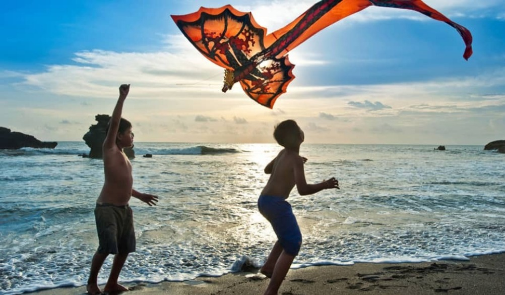 Kite flying is so much fun for kids